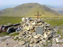 The Royal Canadian Airforce memorial on Great Carrs