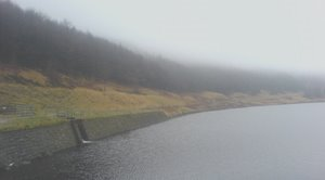 Yeoman Hey Reservoir, cold and wet