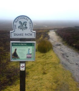 The Snake Path out of Hayfield