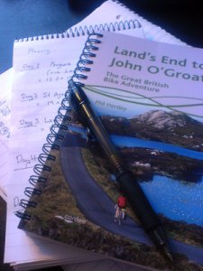 Land's End to John O' Groats - The Great British Bike Adventure, Phil Horsley