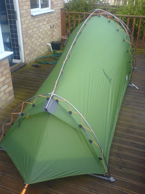 Vaude Hogan XT Iu0027ve purchased this tent for my LeJOG trip on the basis of its huge porch swallowing a bike. It does although I will have to remove the ... & Vaude Hogan XT first look u2013 Northern Walker