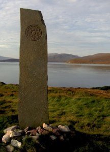 Celtic monument, Kyle of Durness