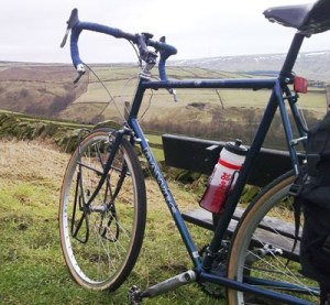 High above Holmfirth on NCN Route 68 on my 531st Dawaes Galaxy