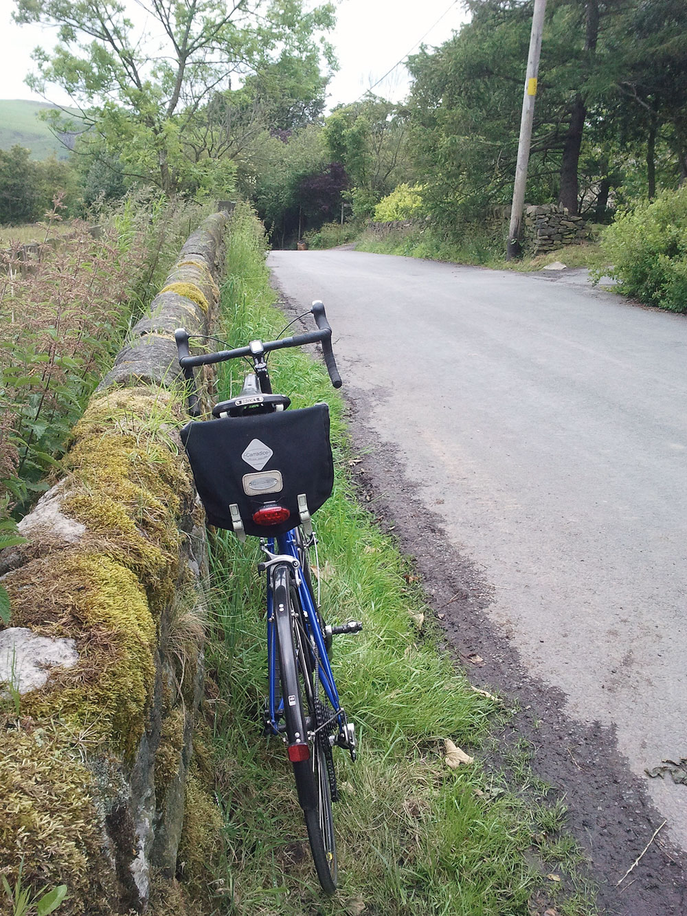 Thorn Audax on the lanes above Greenfield