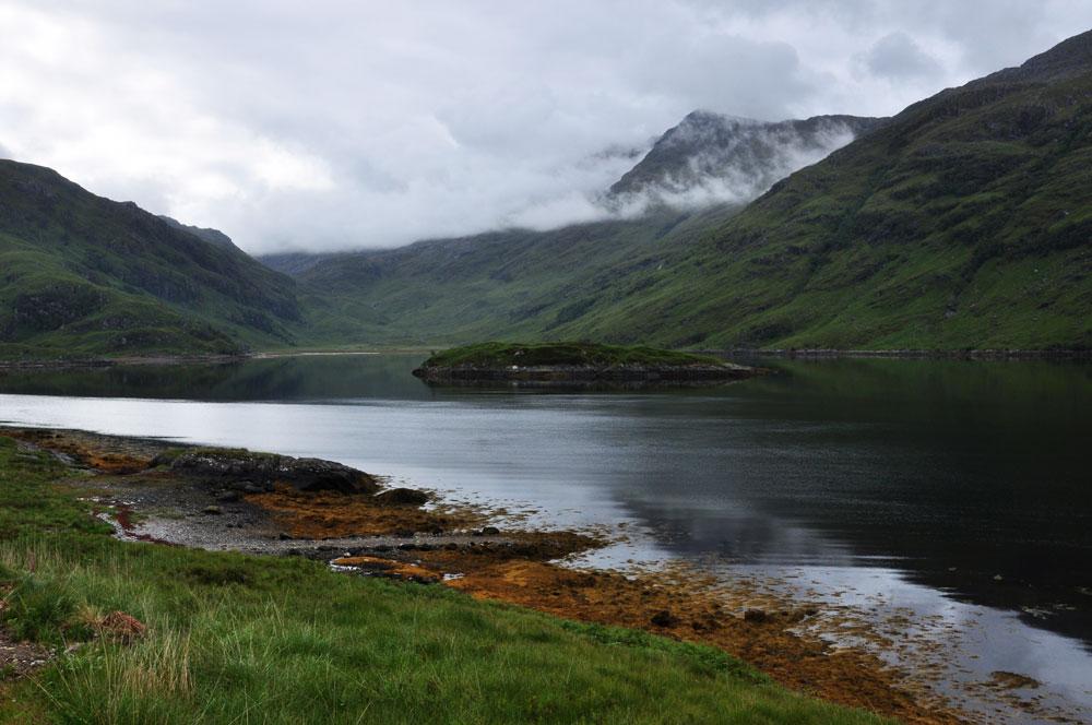The head of Loch Nevis