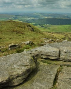 View above Kinder Low End
