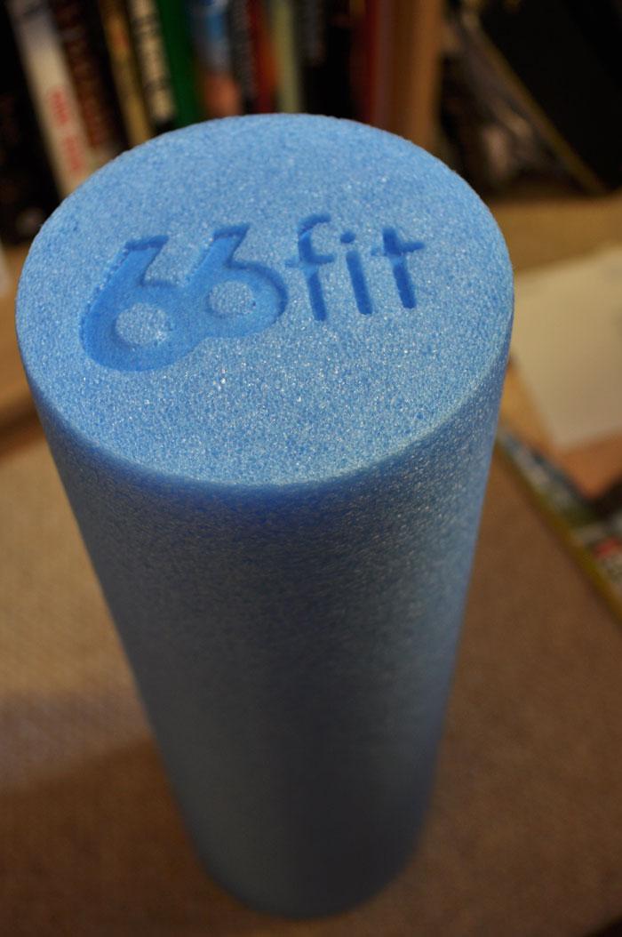 66fit foam roller 45 cm