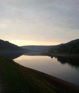 Derwent Reservoir at dawn
