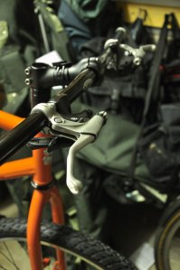 Surly Troll with Thorn Handlebars and Shimano Deore Rapid Fire shifters