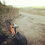 Surly Troll above Greenfield on the Diggle Jiggle