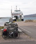 Ready to catch the ferry from Berneray to Leverburgh