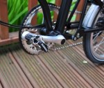 SPD fitted to Brompton H6L