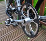 Stronglight 50t chainwheel, Brompton H6L