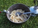 Cycle touring food... pasta, and more pasta