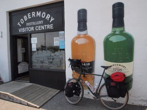 Tobermory distillery. Well, it would have been rude not to