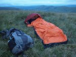 Big Agness Three Wire Bivvy in action