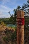 GR99 Camino Natural del Ebro waymarker