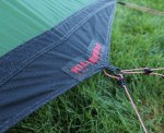 Hilleberg Akto on a very damp morning