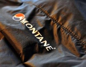 Montane Featherlite H2O Freeflow fabric detail