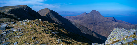 Rum Cuillin from Sgurr nan Gillean by Colin Prior