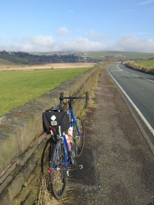 Thorn Audax Mk3 on a Autumn ride over Saddleworth