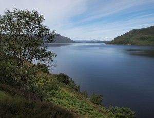 Loch Nevis looking to Skye