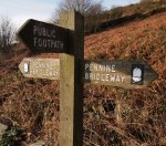 Penning Bridleway sign