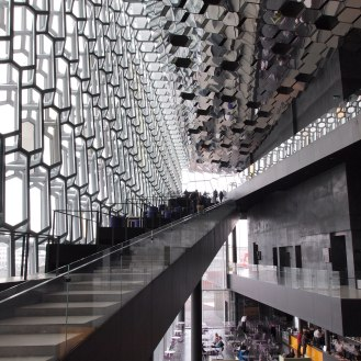 The Harpa stairs