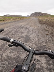 Hitting the gravel Highway 550