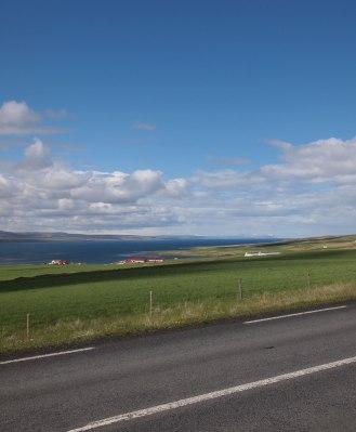 Iceland north coast