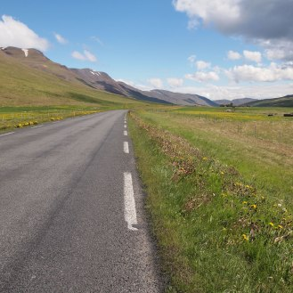 Iceland highway 1
