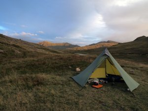 Camp near Pike o Blisco