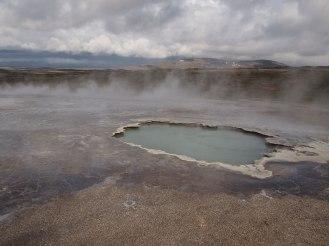 Hot springs Hveravellir