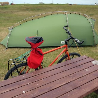 Strandarkirkja-campsite