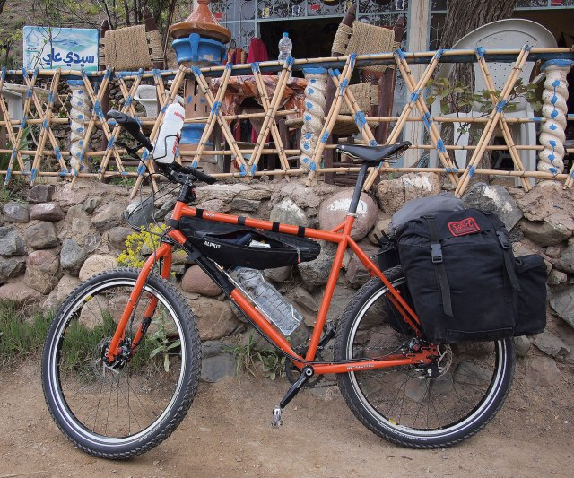 Surly Troll in Morocco