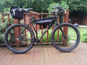 Surly ECR bikepacking