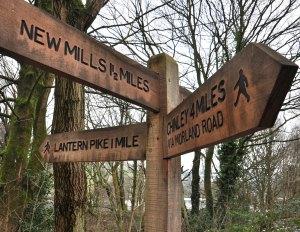 New mills sign