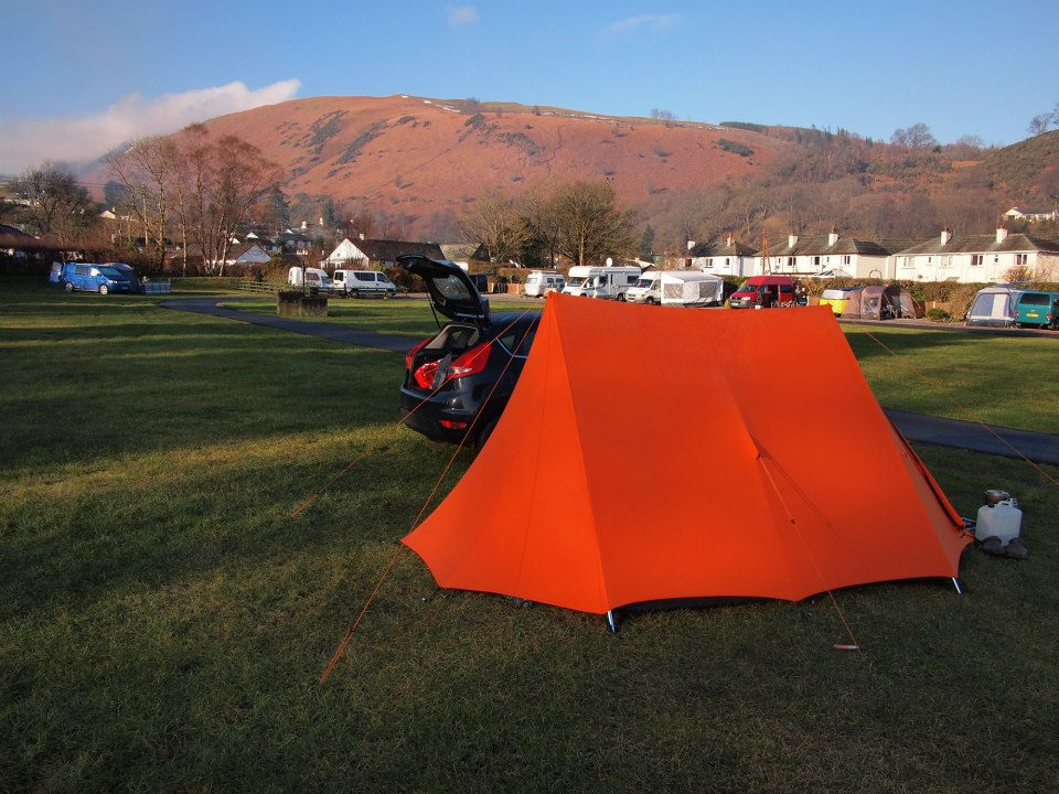 Our Vango Force 10 Classic Mk5 at Scotsdale - Classic indeed