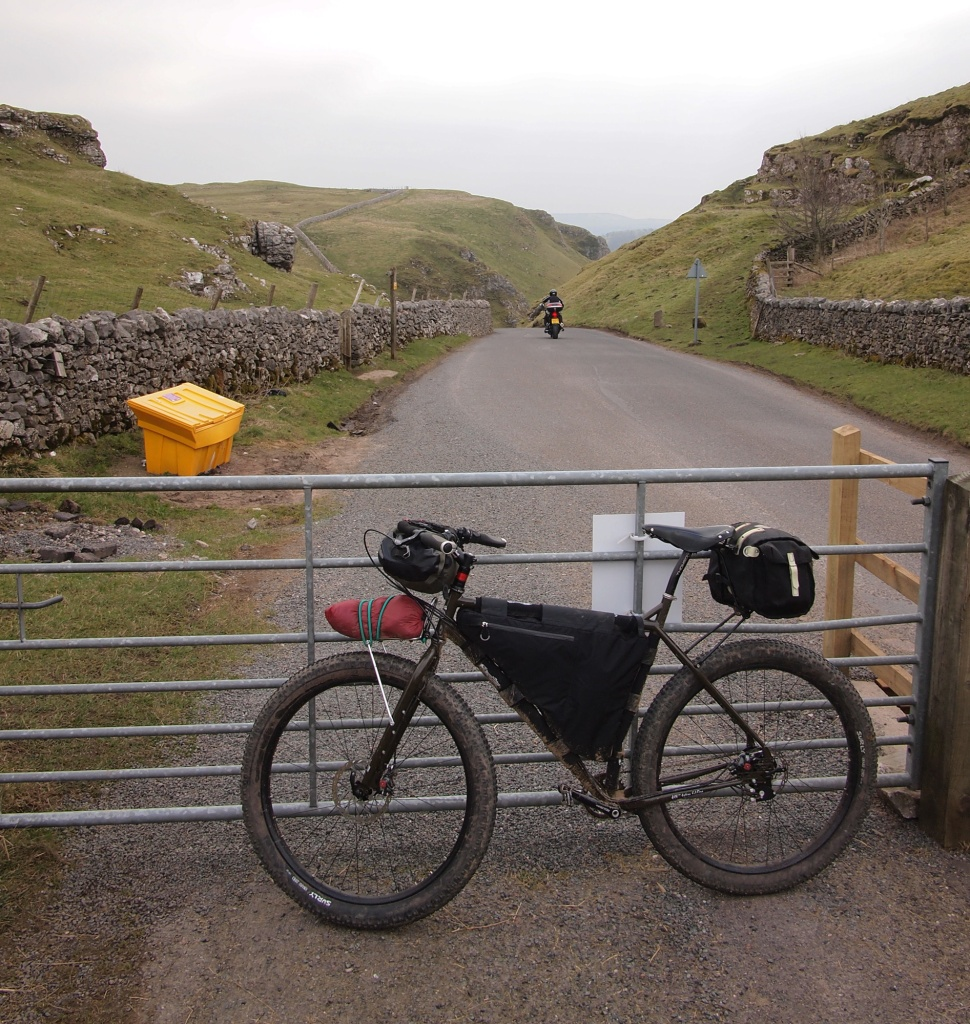 At the top of Winnats Pass