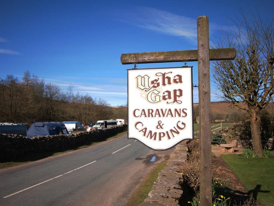 Usha Gap campsite - a highly recommended place to stay this way
