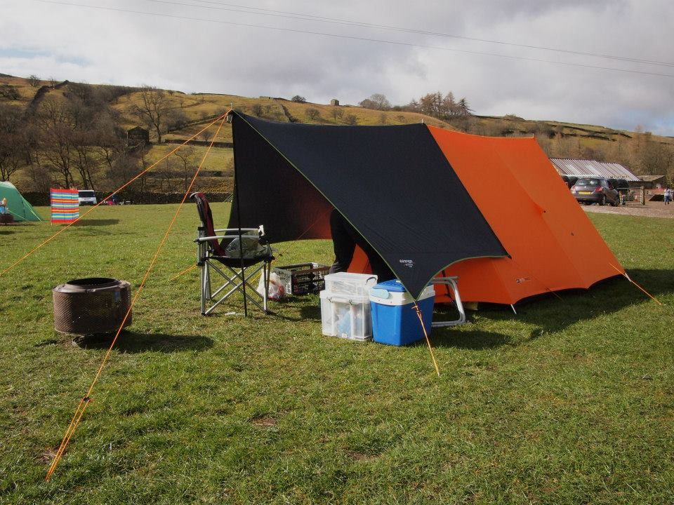 Vango Force Ten with an Adenture Tarp