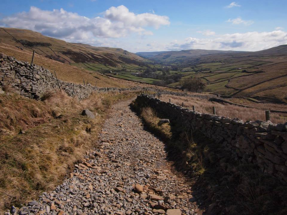 The Pennine Way to Great Shunner Fell
