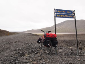 OldSkool? - Touring Iceland on a Surly Troll with 30kg of kit across four panniersa dn a drybag