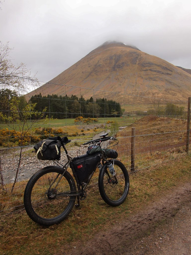 Heading to Bridge of Orchy on a fabulous old military road