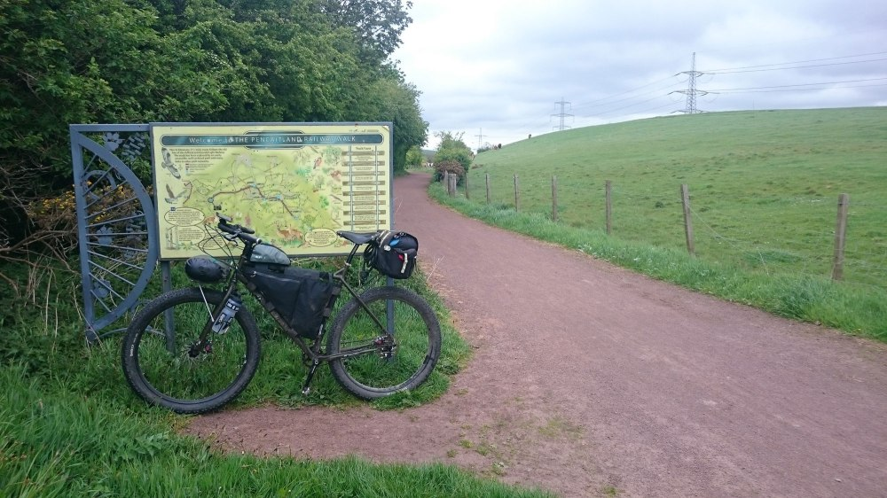 Joining the Pencaitland Trail NCN Route 196
