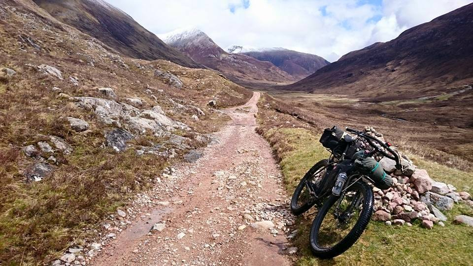 Surly ECR on the West Highland Way