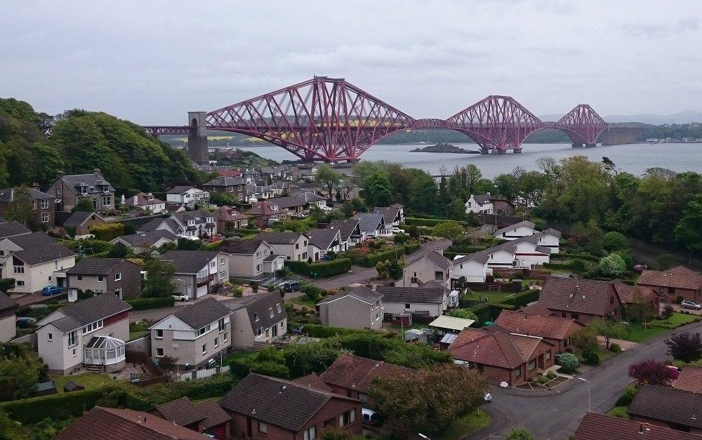 The magnificent Forth Rail Bridge