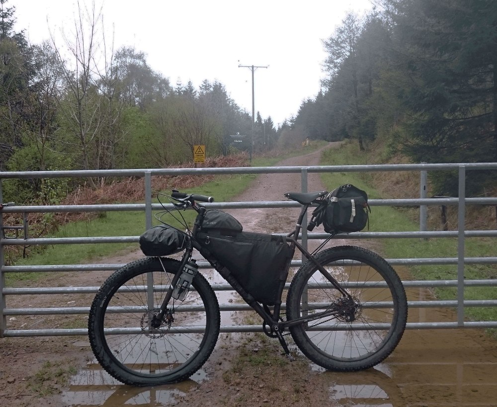 Surly ECR at Clunes forest