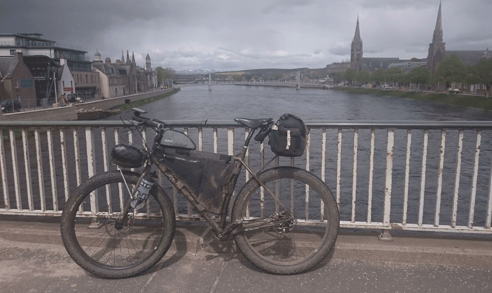 Tired and muddy inInverness