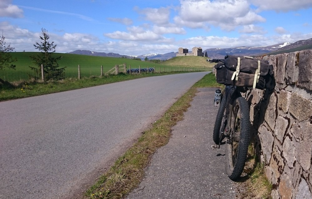 Leaving the Rothiemurchus